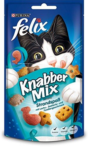 Felix Knabber Mix Katzensnack Strandspa, 60 g