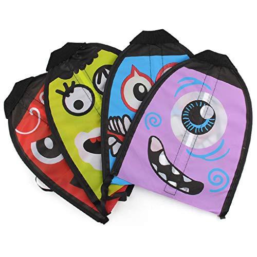 Farbe Cartoon Außen Flingshot Fliegen Spielzeug Finger Shooting Kite Yard-Spiele Kinder-Spaß-Spielzeug-Kind-Geschenk ()