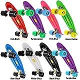 Ancheer-Mini-Cruiser-Skateboard Eine große Vielfalt von Farbe der Platten und Rädern