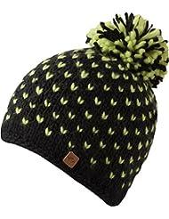 Bronxx Hat - bonnet tendance tricoté avec pompon pour les femmes - fait main - 2013-14, bonnet tricoté avec polaire intérieure chapeau bobble