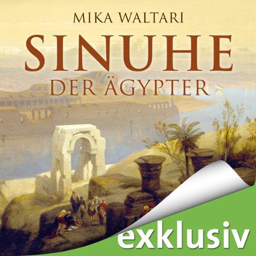 Buchseite und Rezensionen zu 'Sinuhe der Ägypter' von Mika Waltari