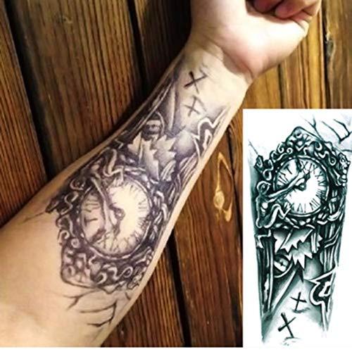 yyyDL Tattoo Aufkleber Tattoo Designs Aufkleber Designer Body Art Tattoo Männer Tätowierung Aufkleber Fake Tatoo Große Tätowierungen 3D19 * 12cm 2St