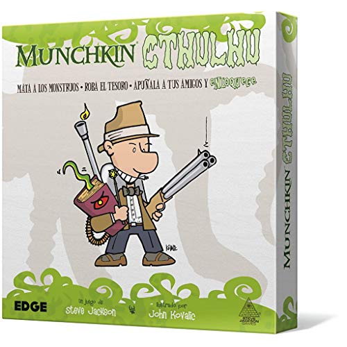 Edge Entertainment- Munchkin Cthulhu - Español, Color (EESJMC01)