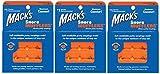Macks Russamento Mufflers Modellabile Silicone Mastice Auricolari 6 Coppie x 3 (18 coppie) immagine