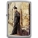 Zippo 1941Replica Chrome brossé, numéro d'article 60.000.698Pochettes Briquet, Elvis Army