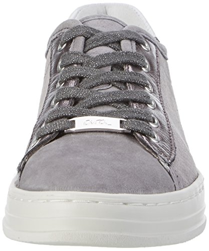 ara Damen Courtyard Sneaker Grau (Rauch,street/weiss)