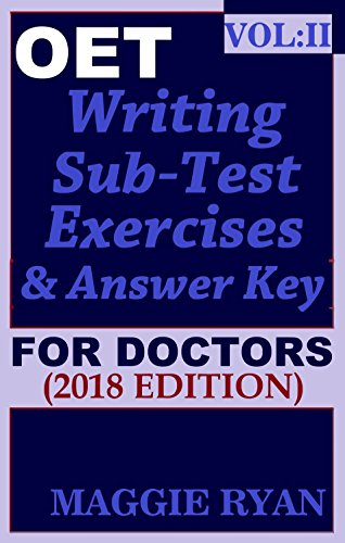 Oet 2018 writing for doctors vol 2 oet writing books for doctors oet 2018 writing for doctors vol 2 oet writing books for doctors fandeluxe Images