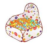 Parc de jeu pour enfants - Piscine à balles pliable pour enfants - Avec panier de...