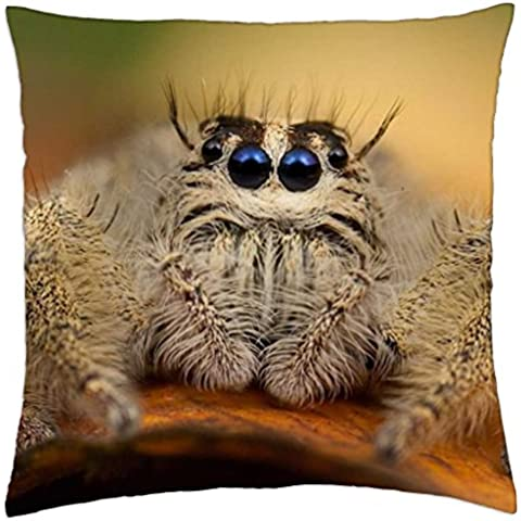 VERY HAIRY SPIDER - Throw Pillow Cover Case (18