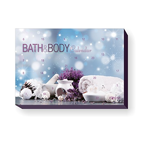 itenga XXL Adventskalender Bath Body Motiv Spa Wellness Bad und Body Beauty Entspannung