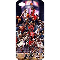 Carcasa iPhone 8 Michael Jordan Swag Chicago Bulls Baloncesto NBA