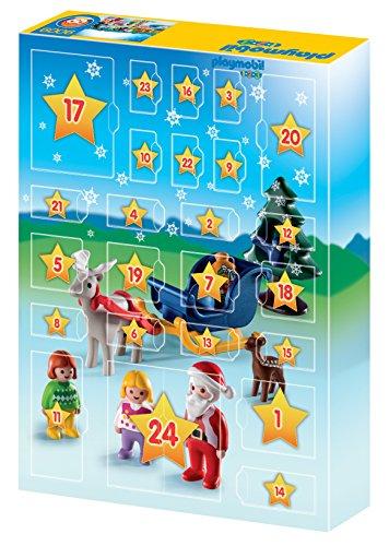 Calendario Avvento Playmobil.Playmobil 9009 Calendario Dell Avvento 1 2 3 Natale In Fattoria Multicolore