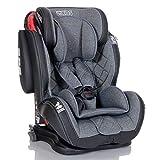 LCP Kids Auto-Kindersitz 9-36 kg Isofix mit Schlafposition Gruppe 1 2 3; Grau