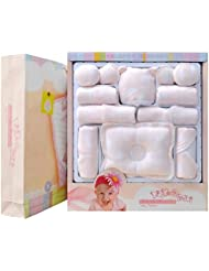 SHISHANG Ensemble de 20 pièces Ensemble de cadeaux pour bébés Boîte cadeau Boy Girl Cadeaux pour bébés pour 0-6Months Nouveau-né 100% coton Four Seasons Gift Bag Full Moon Gift Box , 6