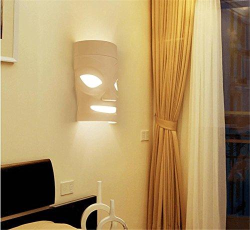 WGE Moderne Nachttisch-Wandleuchte Einfache Kreative Led-Schlafzimmer Wohnzimmer Gänge Korridor Hotel Hotel Wandleuchte , 2