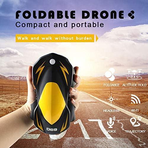 Hanbaili Jouets de modèle de drone drone drone de Wifi, appareil-photo de télécomFemmede d'appareil-photo d'avion de 4 axes d'avions de drone d'UAV a placé le quadruple élevé WIFI Quadcopter de drone   Moderne Et élégant à La d60fc3