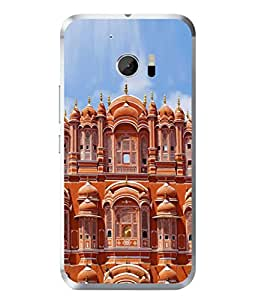 PrintVisa Designer Back Case Cover for HTC 10 :: HTC One M10 (Architecture Design Palace Beauty Sculpture Backcover)
