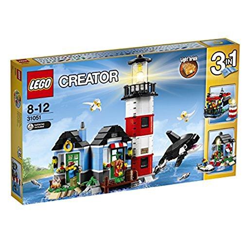 LEGO Creator 31051 - Leuchtturm-Insel, Bausteinspielzeug