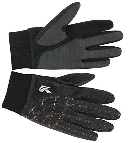 Unbekannt Kasco Men\'s Winter Passform Golf-Handschuh, Schwarz, XS