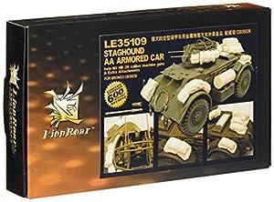Rugido del león-Greatwallhobby Modelo Tanque Wwii US Army Staghound Aa Armored Car edición limitada! escala 1:35