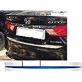 MUSKUN ENTERPRISES Car Dicky Chrome Garnish for Honda City i-DTEC & i-VTEC 2014-2018 Model (Chrome Standard Size)