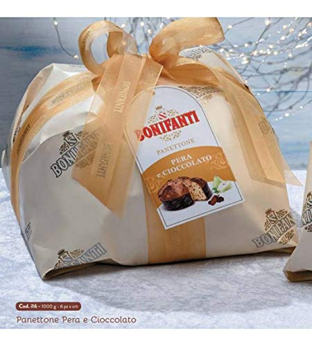 Bonifanti - panettone artigianale pere e cioccolato 1kg