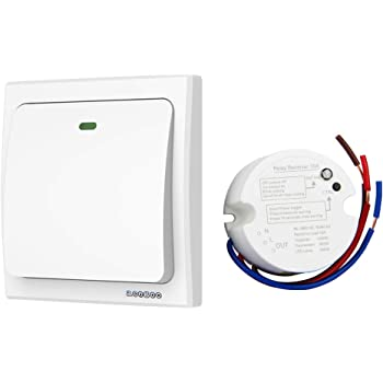 Outstanding Thinkbee Wireless Light Switch Kit No Battery No Wiring No Wifi Wiring Cloud Hisonuggs Outletorg