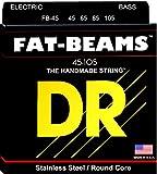 DR Strings FAT-BEAMS 45-105 Jeu de Cordes pour Guitare Basse