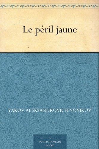 Couverture du livre Le péril jaune