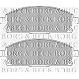 Borg & Beck BBP1820 juego de pastillas de frenos