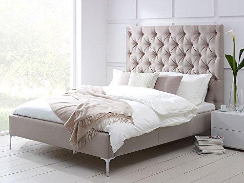 Einzelbett Ottomane (Bett Ottomane Bett erhältlich in Stoff oder Kunstleder)