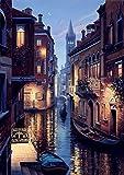yeesam Art neuen 5D Diamant-Kit–Venedig Night View–DIY Kristall Diamant Strass Gemälde eingefügt Malen nach Zahlen Kits Kreuzstich Stickerei