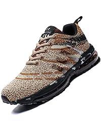 Mabove Laufschuhe Herren Damen Turnschuhe Sportschuhe Straßenlaufschuhe Sneaker Atmungsaktiv rutschfest Trainer für Running Fitness Gym Outdoor