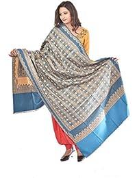 Weavers Villa - Women's Faux Pashmina Shawls (WV832-FEROZI)