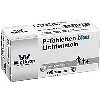 P Tabletten blau 8 mm Teilk. 50 stk preisvergleich bei billige-tabletten.eu