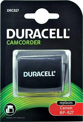 Duracell DRC827 Li-Ion Camcorder Ersetzt Akku für BP-827 (Duracell Camcorder)