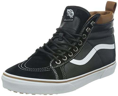 VansU SK8 - Pantofole a Stivaletto, Unisex adulti, Nero, EU 40.5 (US 8)