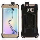 Wicked Chili Halteschale für Samsung Galaxy S6 Edge (G925F) für KFZ Scheibenhalterung, KFZ Lüfterhalterung oder Fahrradhalterung (Passgenau, Made in Germany, schwarz)