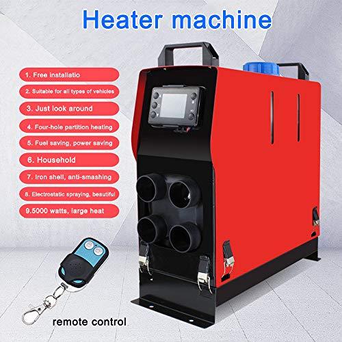 Shuaienfushi Luftheizer, Diesel-Kraftstoff-Heizgerät, integrierte Maschine, 12 V, 5000 W, für Wagons LKW Heizung LKW Ingenieurfahrzeuge, Niedertemperatur-Start/Innenraumheizung
