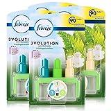 Febreze 3Volution Duftstecker Nachfüllflakon Frühlingserwachen 20ml (4er Pack)