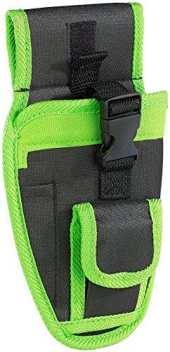 Preisvergleich Produktbild AGT Professional Akku-Schrauber-Tasche: Mini-Akkuschrauber-Holster Gürteltasche AW-240.wt (Werkzeugtasche für Akkuschrauber)