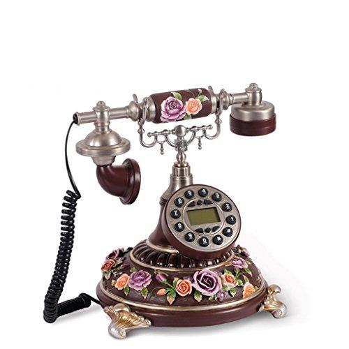 Teng peng telefono- - telefono cellulare continental telefono fisso, telefono desktop con pulsanti (dimensioni 15 x23 x17cm) @@ (color : a)