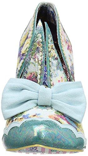 Irregular Choice - Oh Mama, Scarpe col tacco Donna Turchese (Turquoise)