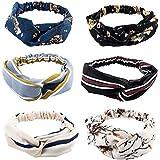 Yeshan Stretch Floral Print Headbands for Women and Girl Bandana/Turban/Headwrap Twist Knot Hairband