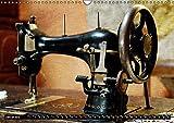 Omas Nähmaschinen (Wandkalender 2019 DIN A3 quer): Nostalgische Aufnahmen alter Nähmaschinen (Monatskalender, 14 Seiten ) (CALVENDO Hobbys)