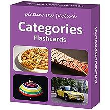 Categories Flash Cards: 40 Language Photo Cards