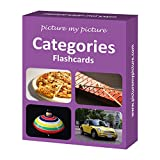 Categories Flash Cards: 40 Language Photo Cards