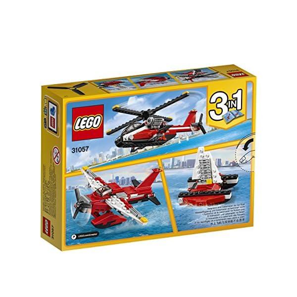 LEGO- Creator Elicottero di Soccorso Costruzioni Piccole Gioco Bambina Giocattolo, Multicolore, 31057 5 spesavip