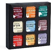 """Ducs de Gascogne - Coffret gourmand """"Apéro Terrines"""" - comprend 9 terrines - spécial cadeau"""