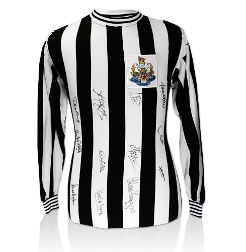 Newcastle-Hand-Signed-Shirt-1969-Fairs-Cup-Winners